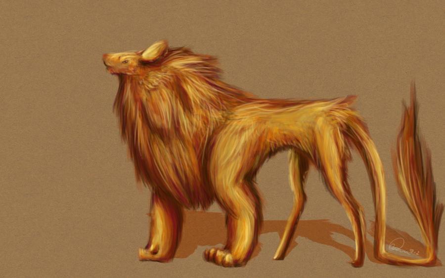 little lion face by CapnShortstack
