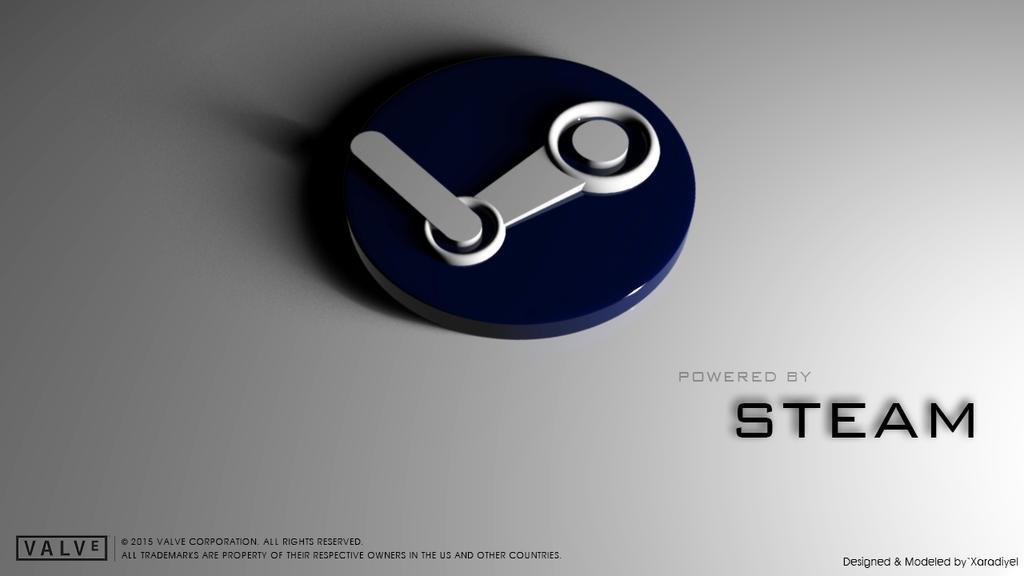 Steam Logo - 3D by DJnetZ on DeviantArt
