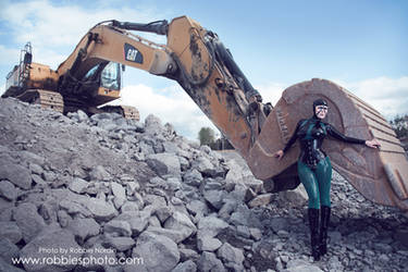 Latex excavation III by FuchsiaG