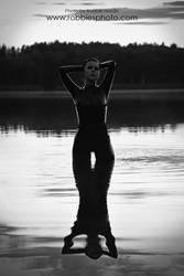 Late Lake BW by FuchsiaG