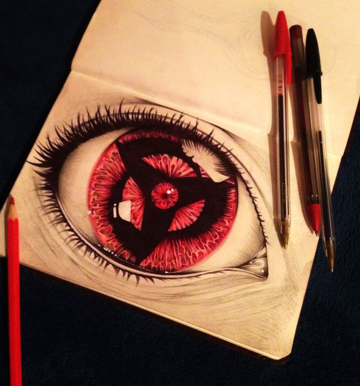 Sketch. Sharingan by aletrip on DeviantArt