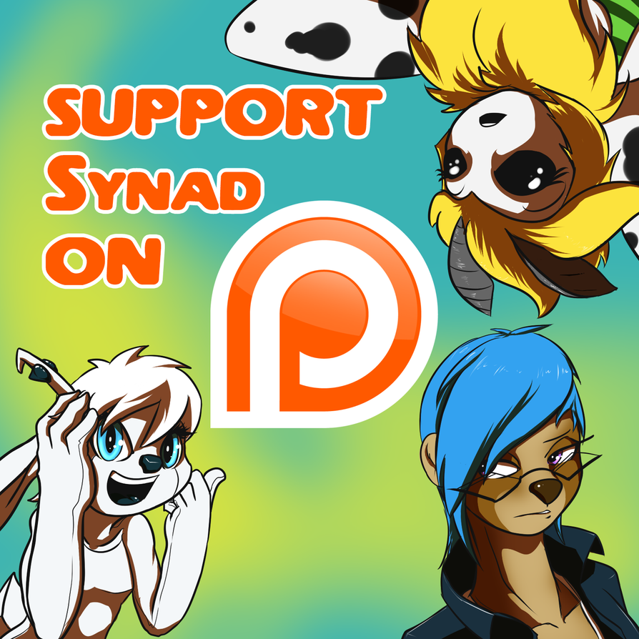 SYNAD OPENS A PATREON PAGE by danis2005