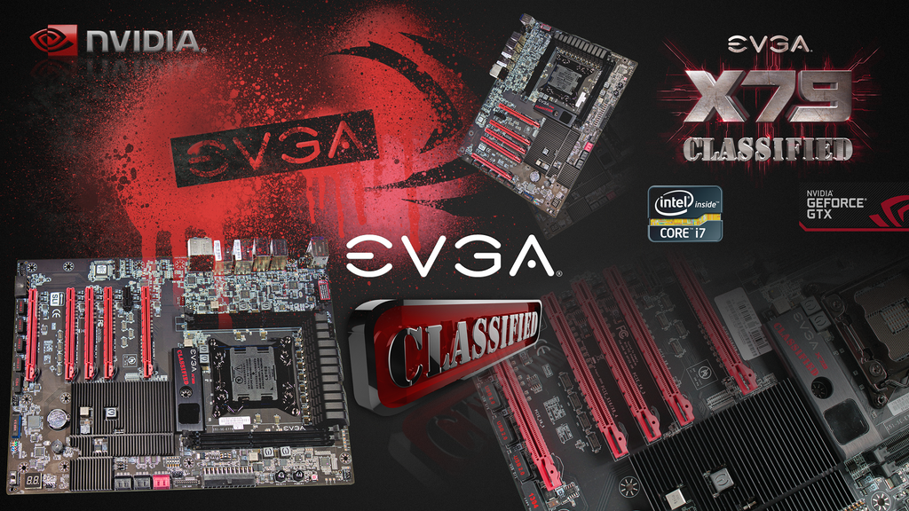 EVGA X79 Classified Wallpaper  1080p  by AndreTMEvga Wallpaper 1080p