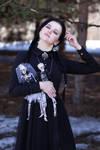 Wednesday Addams Cosplay (2)