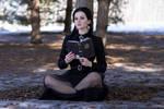 Wednesday Addams Cosplay (7)
