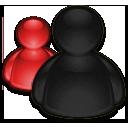 RedBlack MSN by D-NewGuy