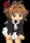 Angry Sakura Kinomoto (PNG)