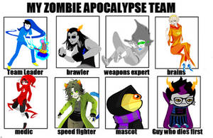 Zombie Team by rhealha13