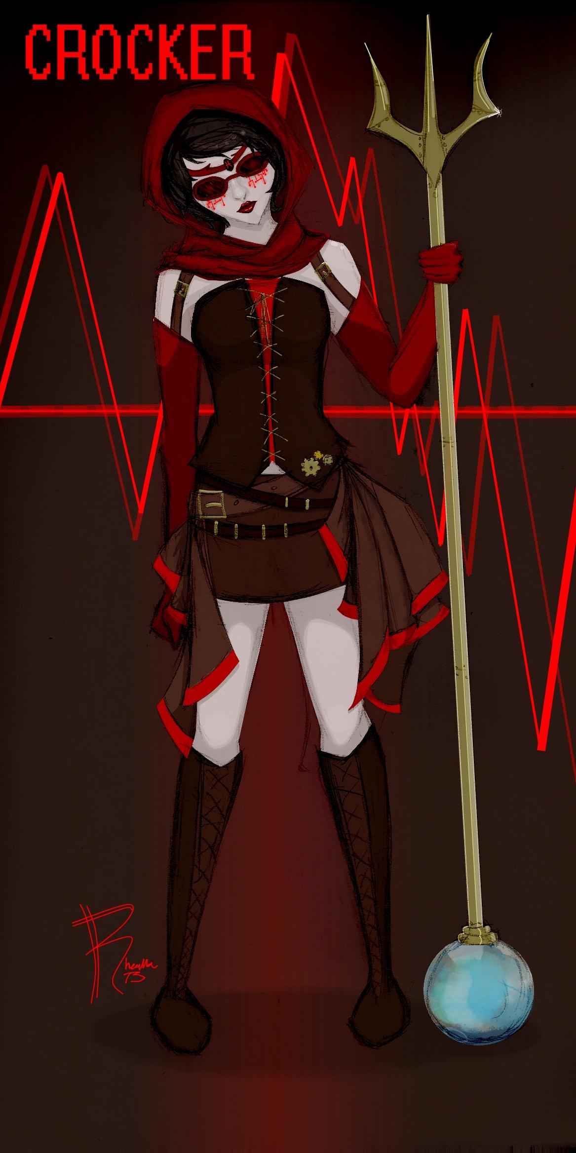 Steampunkstuck Jane by rhealha13