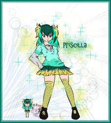 [Gijinka OC] Priscilla the Vaporeon