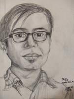 life portrait sketch by makeupandmayhem