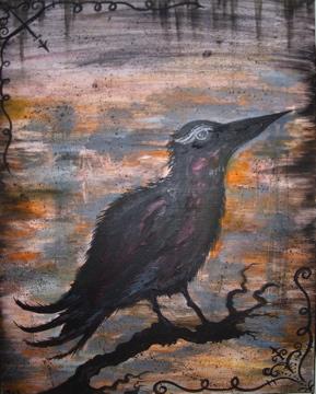 Big Olde Crow by makeupandmayhem