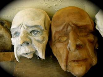 Hag Heads by makeupandmayhem