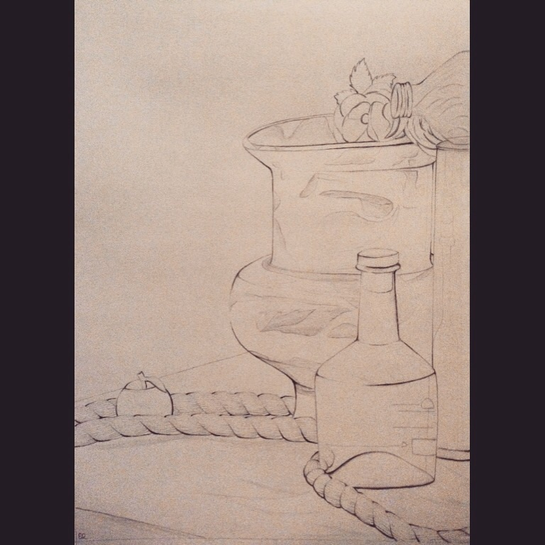 Line Quality In Art : Line quality still life by balletpink on deviantart