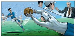 Football Comic Test