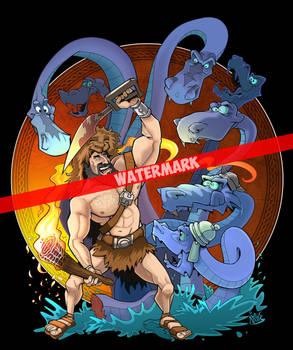 Hercules and Hydra watermarked