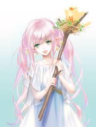 I' ve got a  legendary wizard wands! by tamakiharu