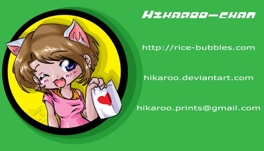 Business Card by Hikaroo