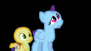 Dragon and Pony base