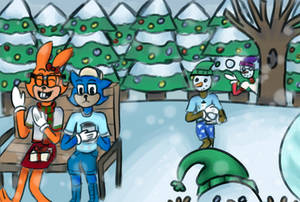 Toontown Holiday Drawing Contest [CLOSED] by