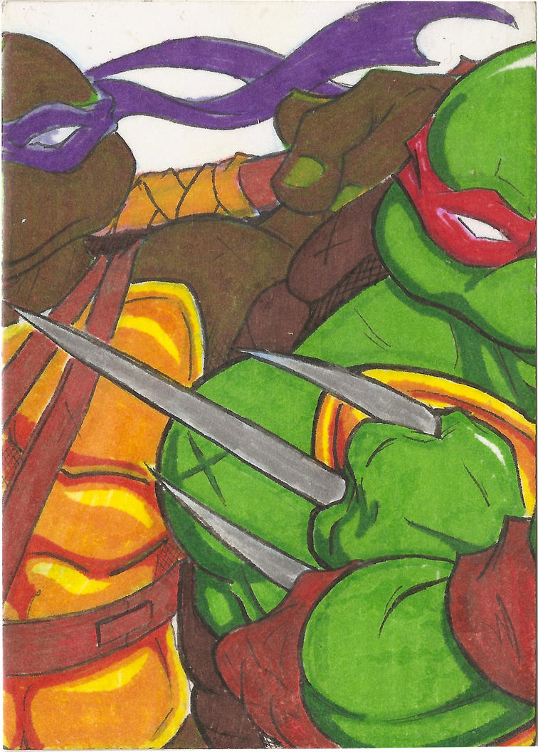 Donnie-Raph Card by Marc-El