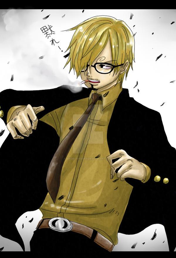 Sanji: Timeskip + Glasses by ArcielFreeder