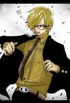 Sanji: Timeskip + Glasses