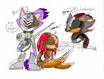 BSK Knight Doodles