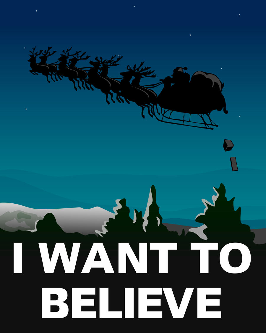 I want to believe by Fresco24