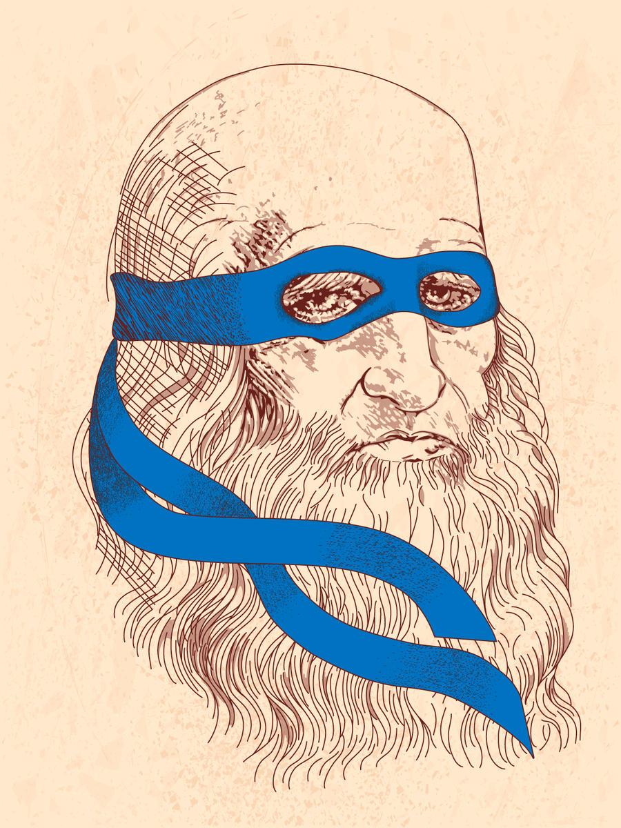 real Leonardo by Fresco24