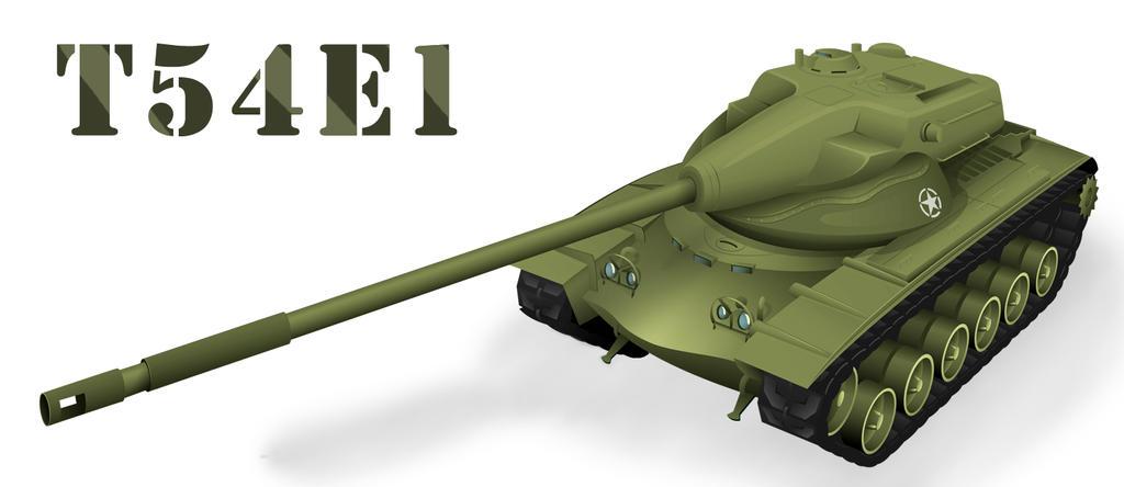 T54E1 by Fresco24