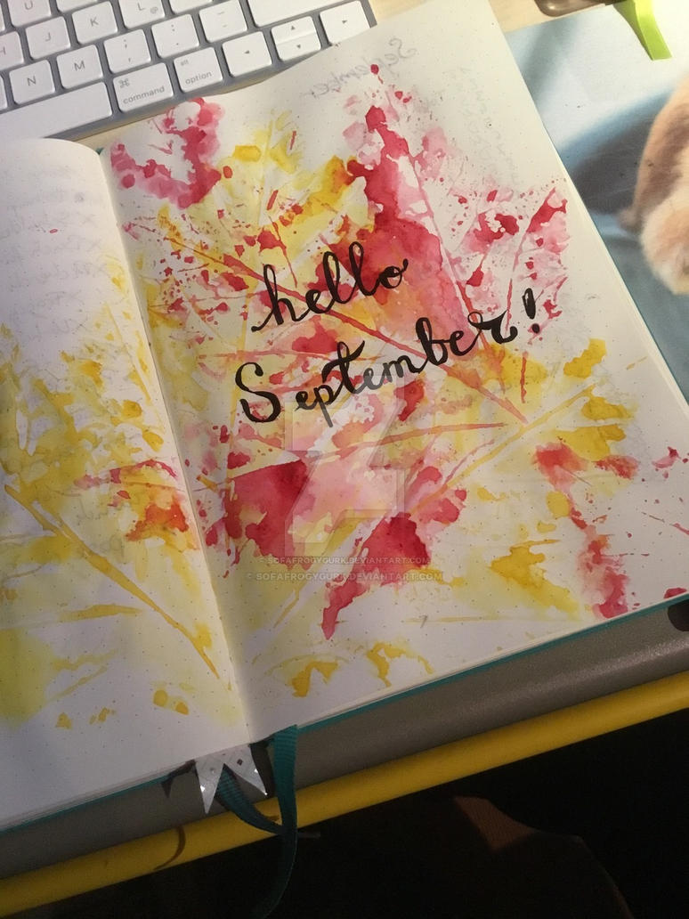 Hello September  by SofaFrogygurk