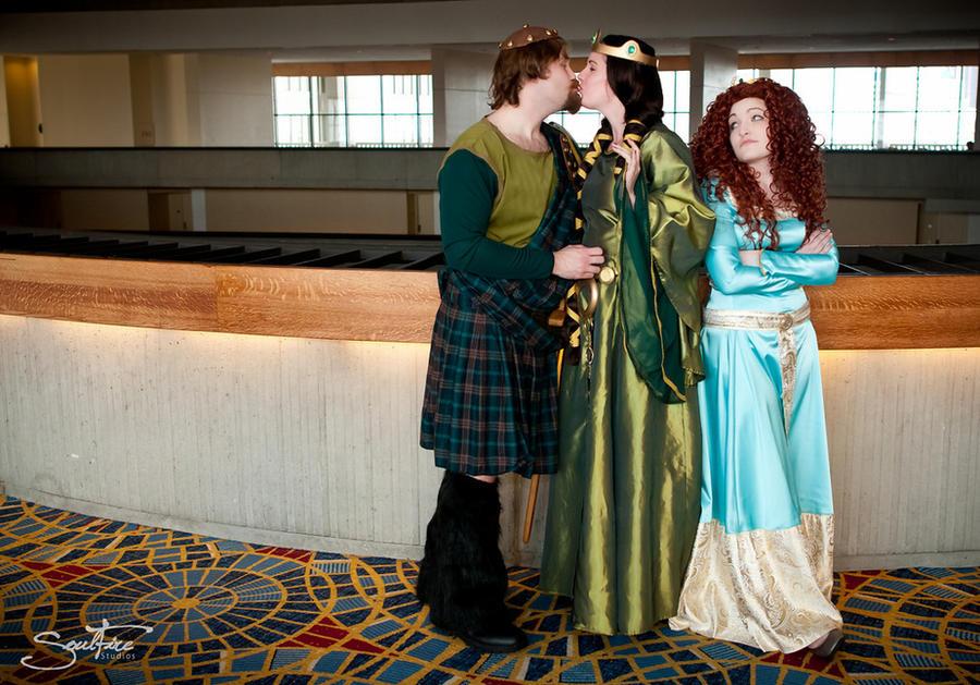Disney's Brave, Family Photo by Oh-MochaFrappe