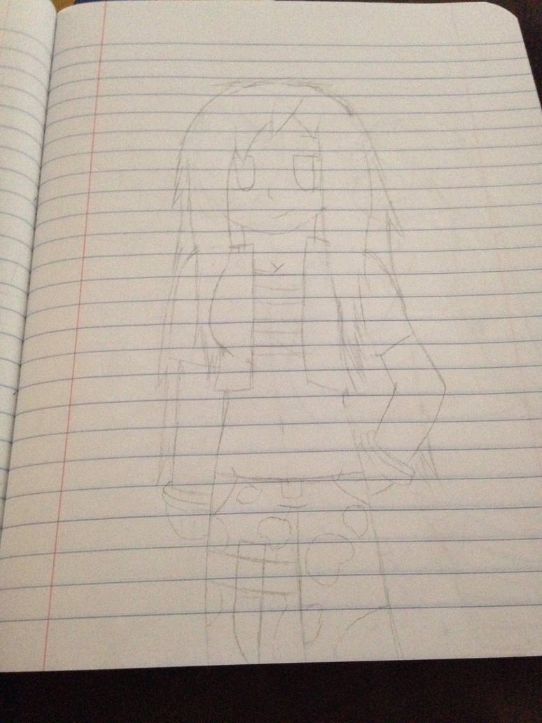 Human Emily the Echidna (re-draw)  by ShadAmyfangirl129