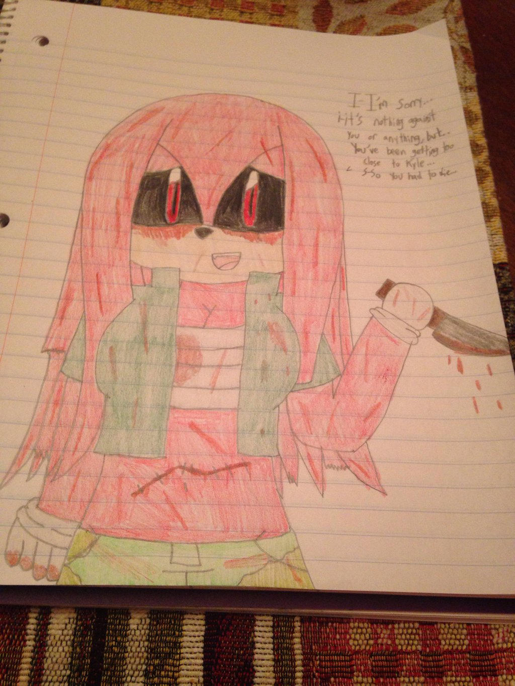 Emily.exe yandere by ShadAmyfangirl129