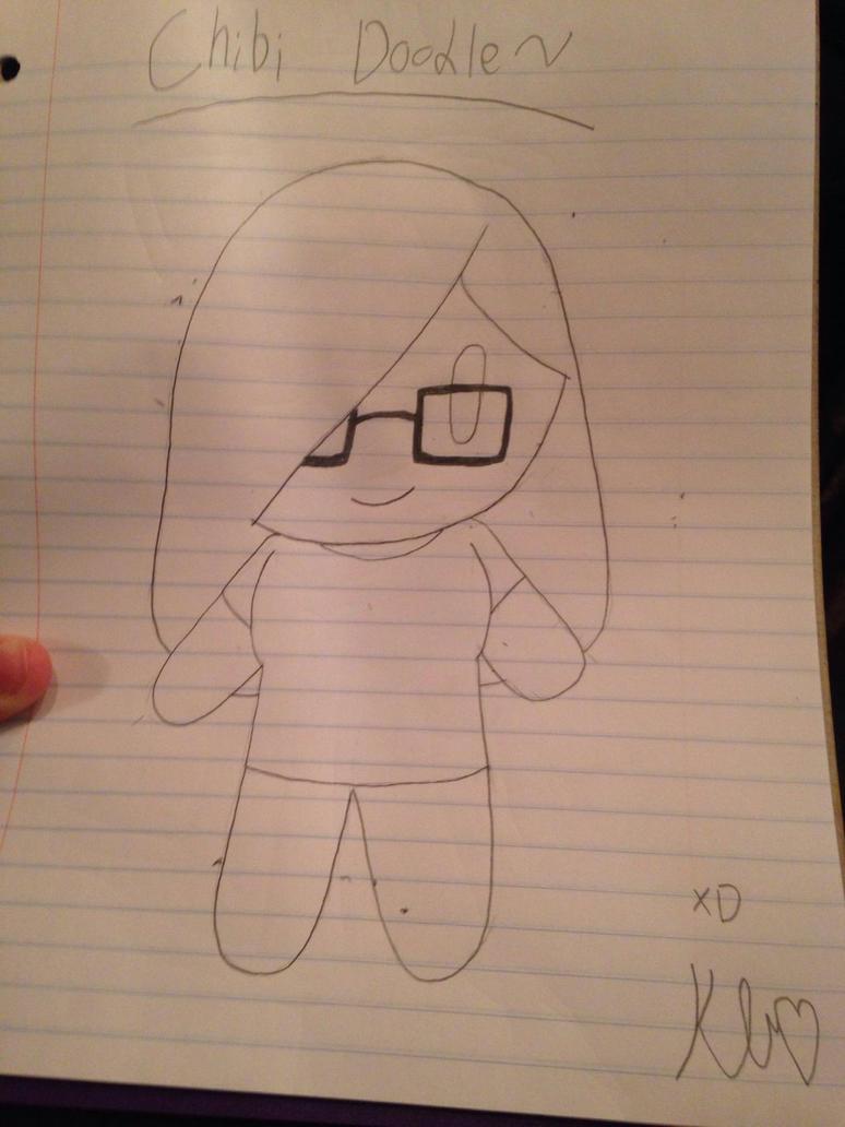 Chibi Doodle XD (YouTuber fanart)  by ShadAmyfangirl129