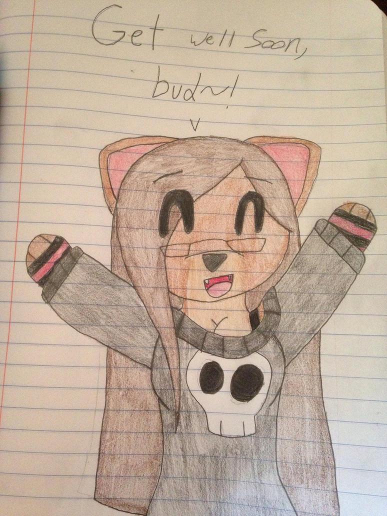 Get well soon, bud~!  by ShadAmyfangirl129