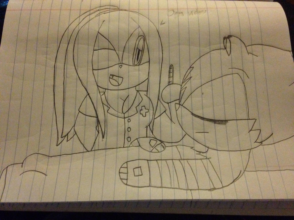 Nurse Emily's sick little patient by ShadAmyfangirl129