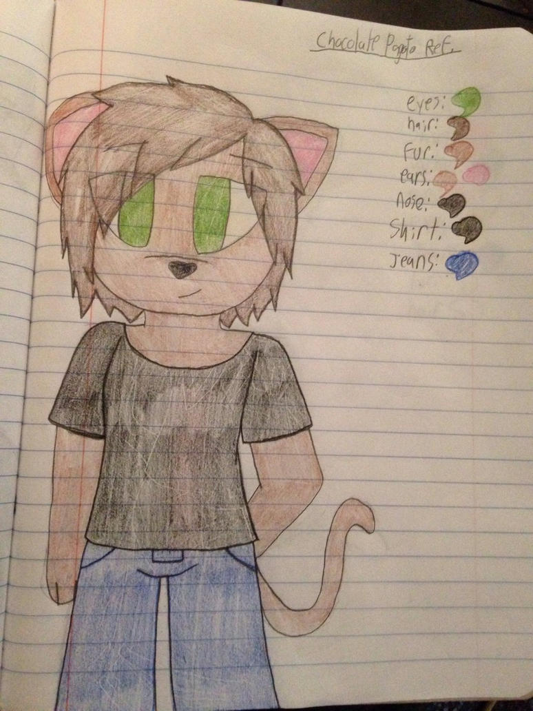 Chocolate Pagoto Ref.  by ShadAmyfangirl129