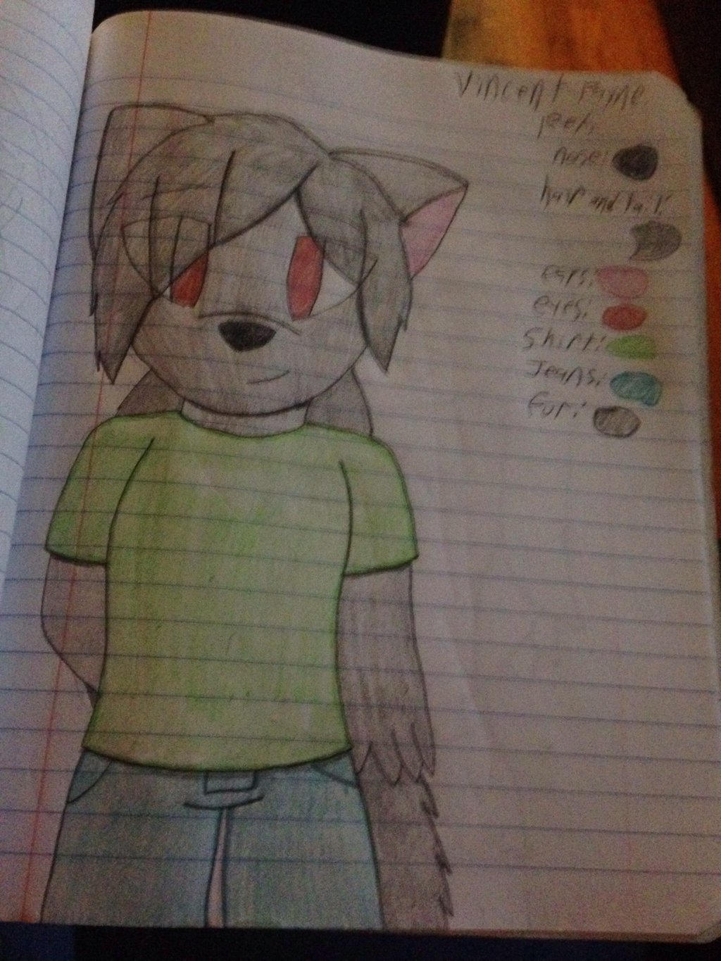 Vincent Payne Ref  by ShadAmyfangirl129
