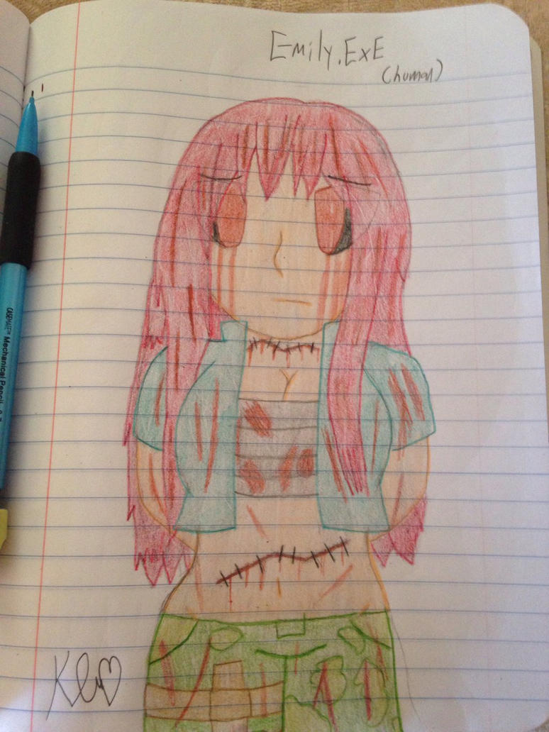Emily.EXE (Human)  by ShadAmyfangirl129