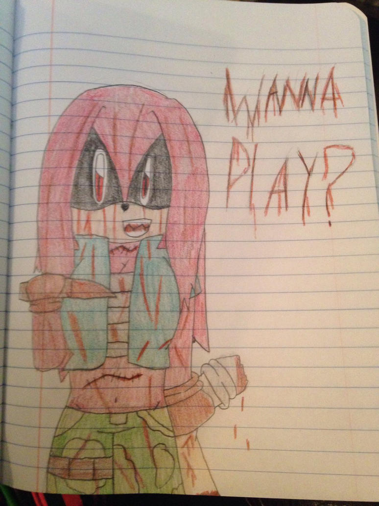 Wanna Play..?  by ShadAmyfangirl129