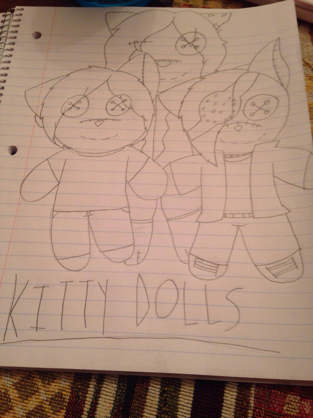 Smol Kitty Dolls by ShadAmyfangirl129