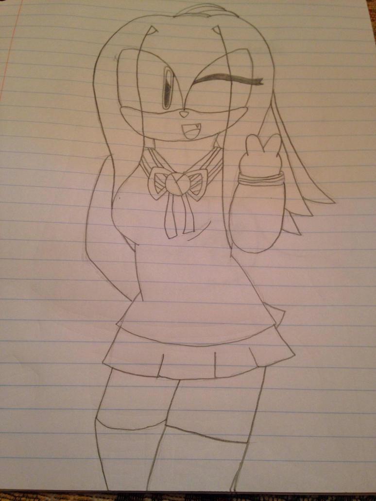 Schoolgirl Emily by ShadAmyfangirl129