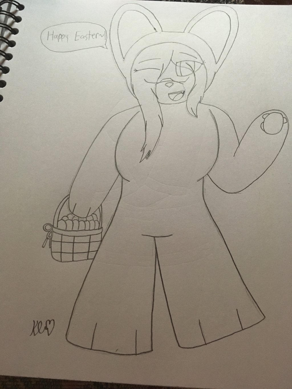 Happy Easter Everyone~!  by ShadAmyfangirl129