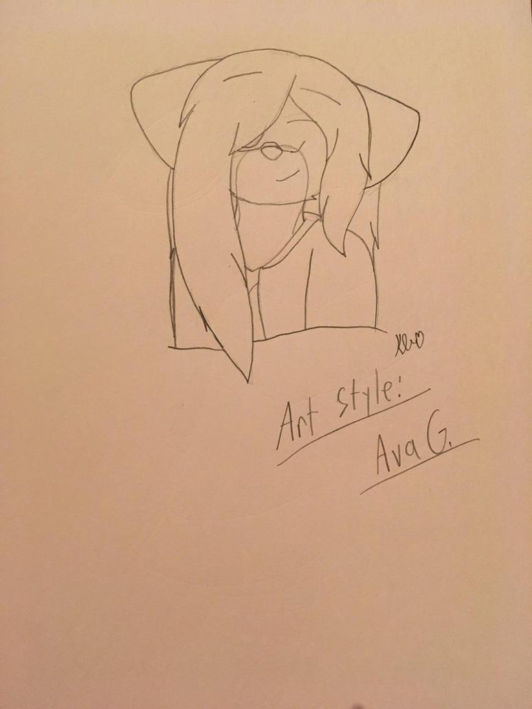 Art Style: Ava G by ShadAmyfangirl129