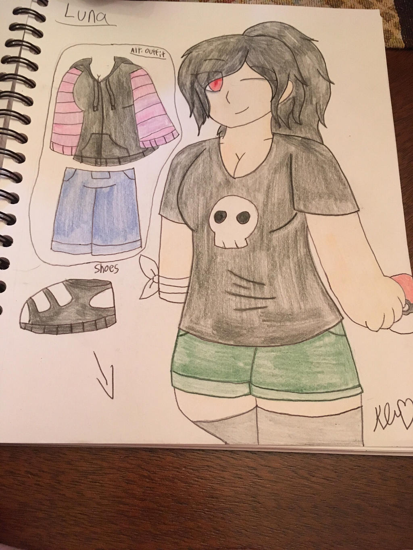 Pokmon OC Luna Blackwell Ref/Profile by ShadAmyfangirl129