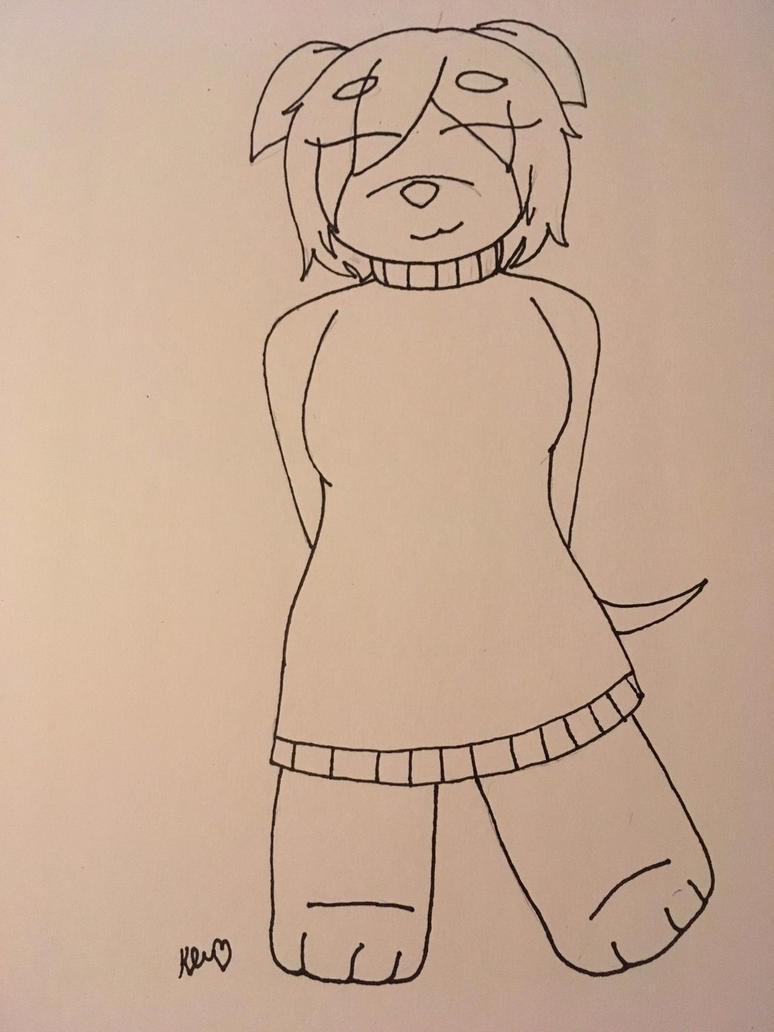 Zoey (Anthro version)  by ShadAmyfangirl129