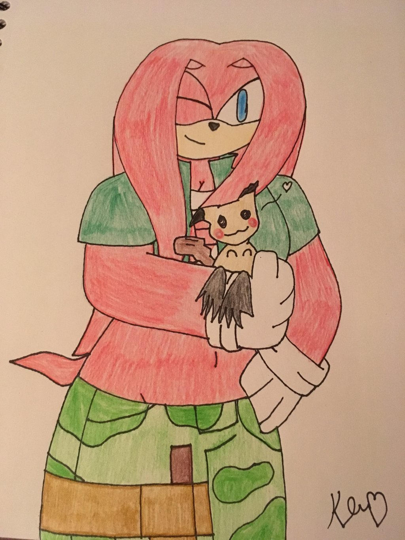 Emily and Mimikyu by ShadAmyfangirl129