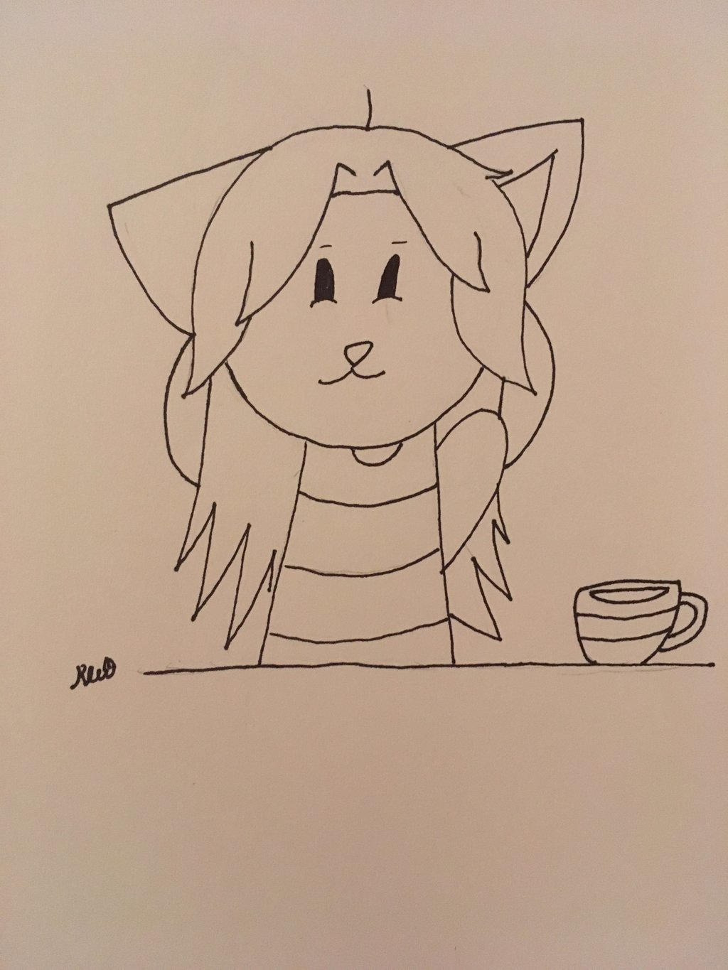 Undertale Temmie by ShadAmyfangirl129